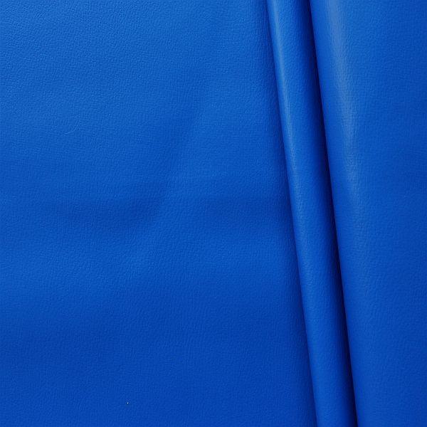 Polster PVC Kunstleder Rindsleder Optik Signal-Blau