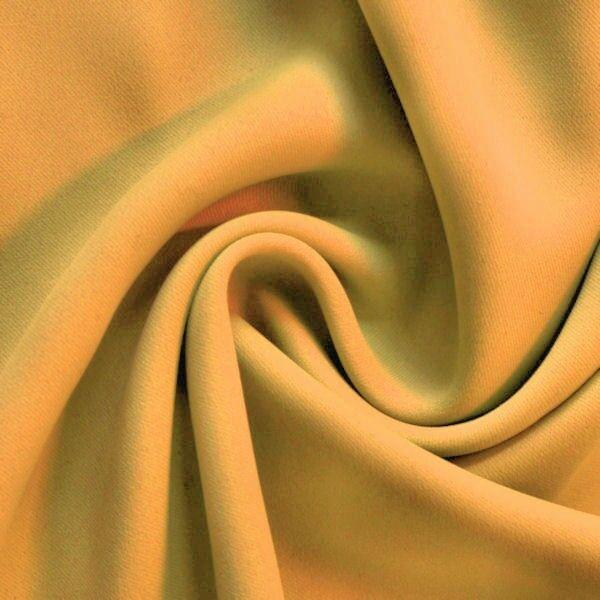 Verdunkelungs- Thermo Vorhangstoff Black Out Artikel Berlin Farbe Gelb