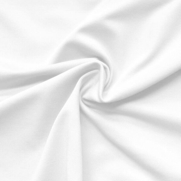 Bi-Stretch Slinky Radler Jersey Farbe Weiss