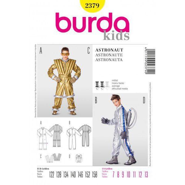 Burda 2379 Schnittmuster für Astronautenkostüm