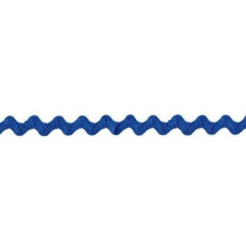 Prym Zackenlitze 10mm x 3m (Breite / Länge) royal-blau