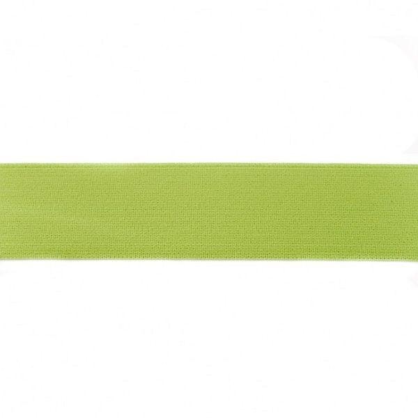Elastikband 40mm Lind-Grün