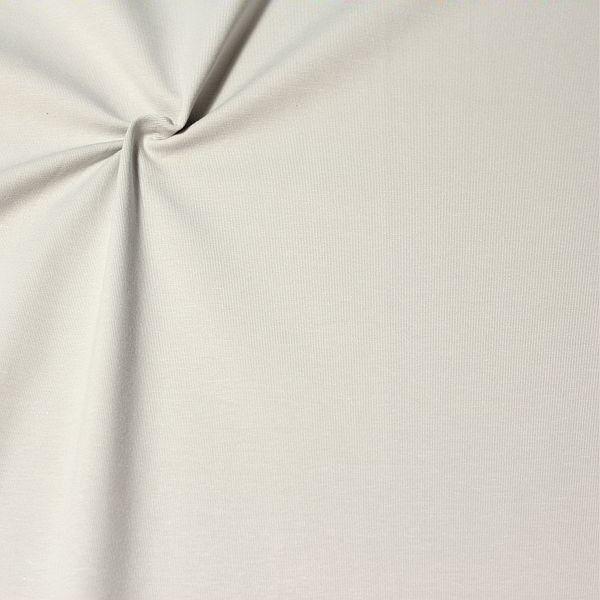 Baumwoll Stretch Jersey Fashion Basic Hell-Grau