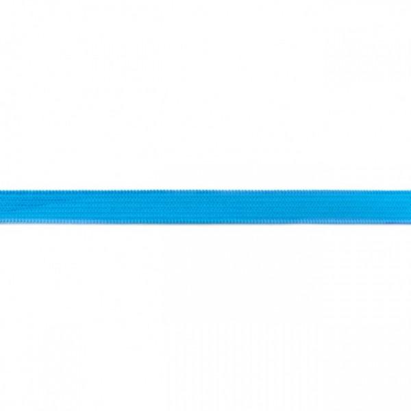 2m Elastikband Breite 10mm Farbe Aqua-Blau