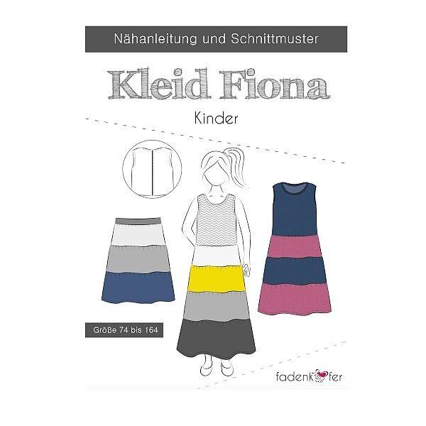 Fadenkäfer Schnitt Kleid Fiona Kinder