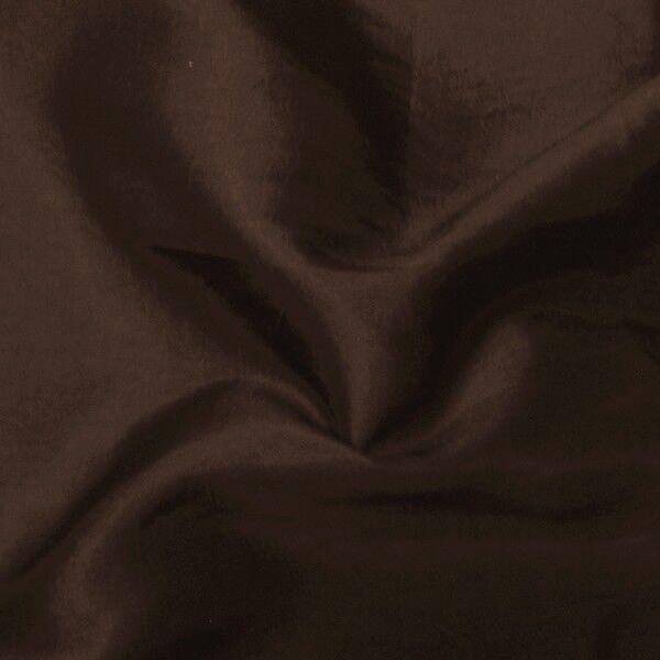Kleider / Deko Taft Farbe Dunkel-Braun