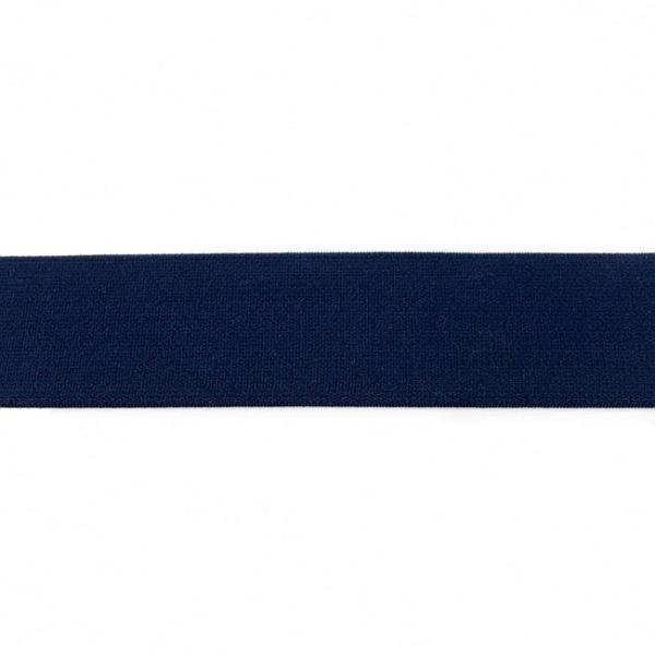 Elastikband 40mm Navy-Blau