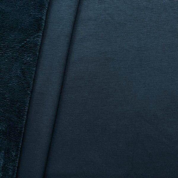 Alpenfleece Sweatshirt 2 Farbe Dunkel-Blau