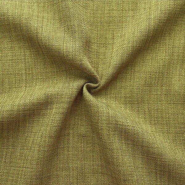 Modestoff Dekostoff universal Leinen Optik Oliv-Grün