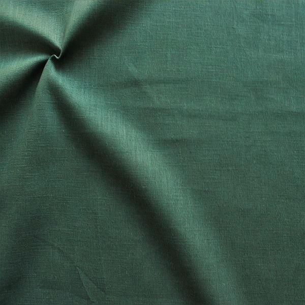 100% Leinen Stoff Tannen-Grün