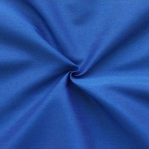Kleider Deko Taft Dupionseide Optik  Royal-Blau
