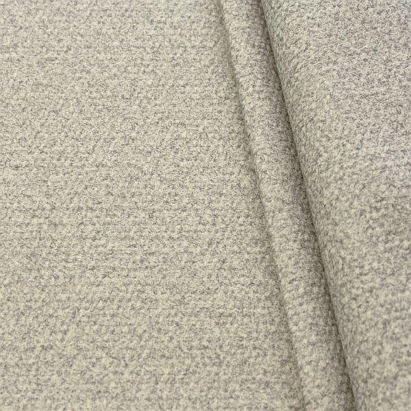 Polsterstoff Möbelstoff Velours Hell-Grau