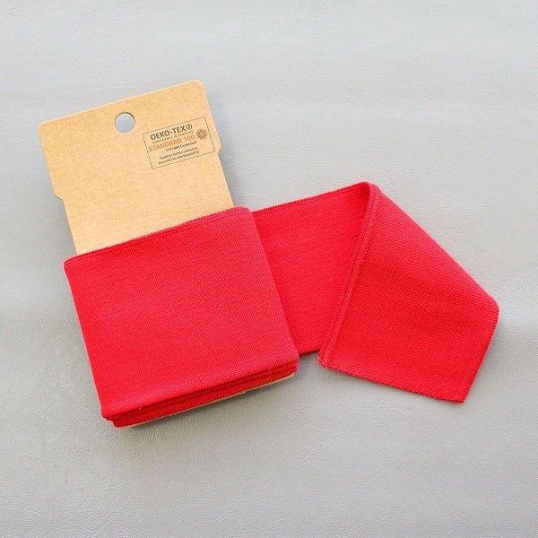 Board Cuff Bündchen Rot