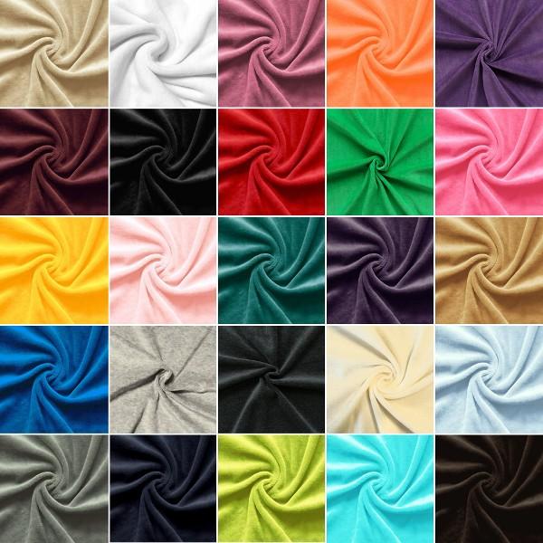 Musterkarte DIN A4 - Nicki Baumwollstoff