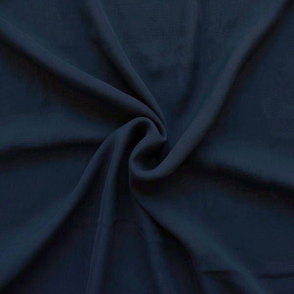 "Modestoff universal Artikel ""Peach"" Farbe Dunkel-Blau"