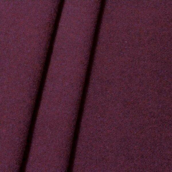 Mantel Wollstoff Klassik Lila-Violett