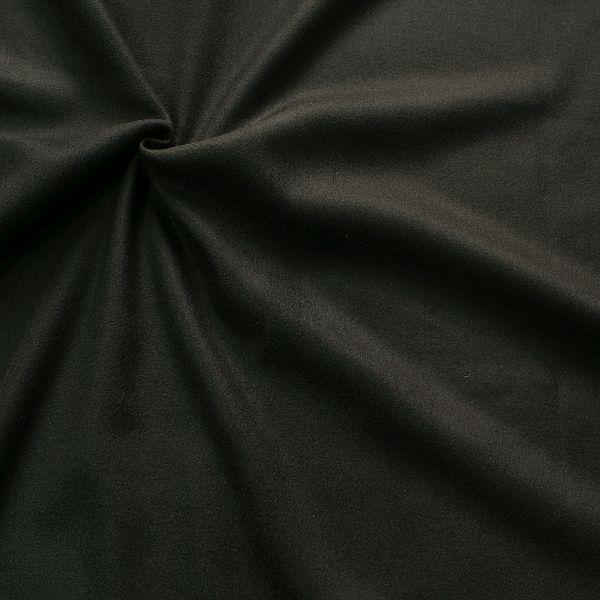 Wollmix Modestoff Wollmischung Wollstoff Wool Blend Schwarz