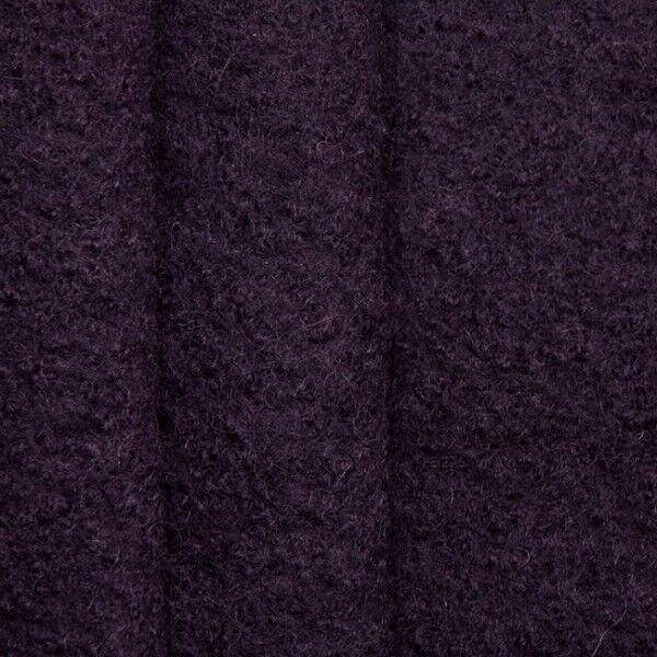 100% Wolle Walkloden Farbe Dunkel-Lila
