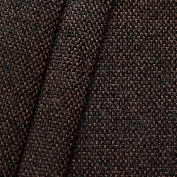 Polster- Möbelstoff Bouclé Optik Artikel Mexiko Farbe Braun-Schwarz
