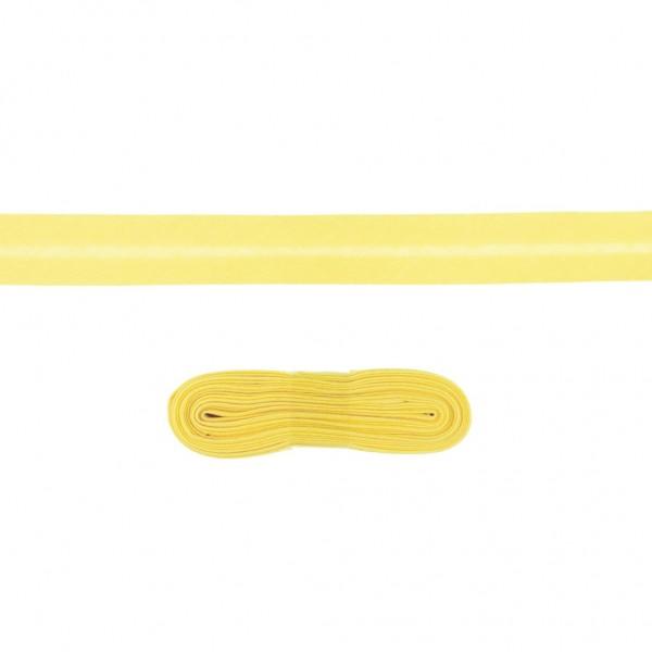 3m Baumwoll Schrägband 20mm Hell-Gelb