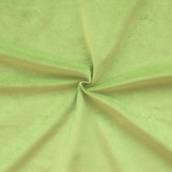 Microfaser Polster- Möbelstoff Artikel Velnesse Farbe Lind-Grün