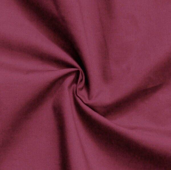 Baumwolle Polyester wie Batist Farbe Bordeaux