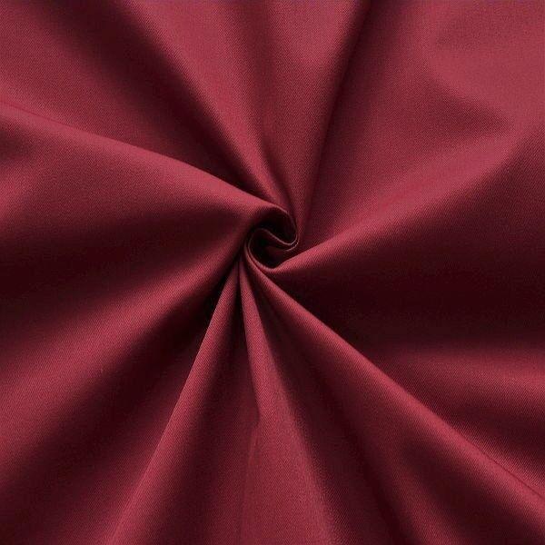 Polyester-Baumwoll Köper Basic Workwear Bordeaux