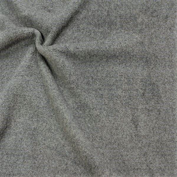 Wellness Fleece Melange Dunkel-Grau
