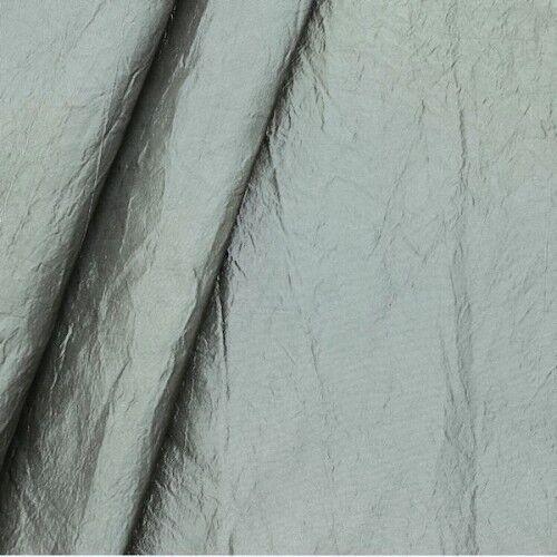 """Deko Taft Crinkle Optik """"Dim Out"""" Farbe Grau"""