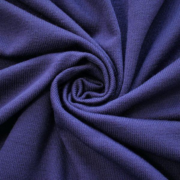 Feinstrick Jersey Classic Knitwear Lila