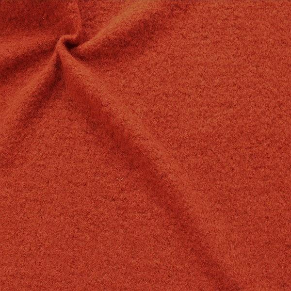 Wollmix Walkstoff lana cotta Rost-Orange