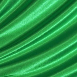 Satin schwer entflammbar Grün