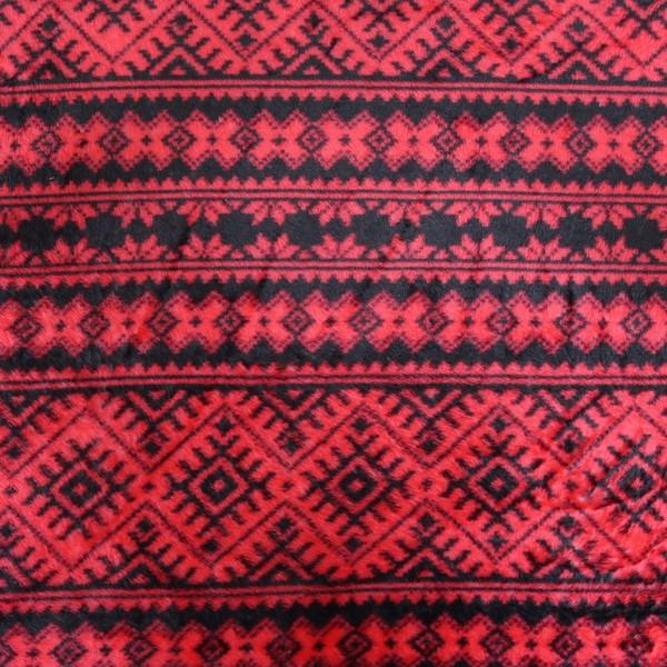 Wellness Fleece Winter Norweger Style Schwarz