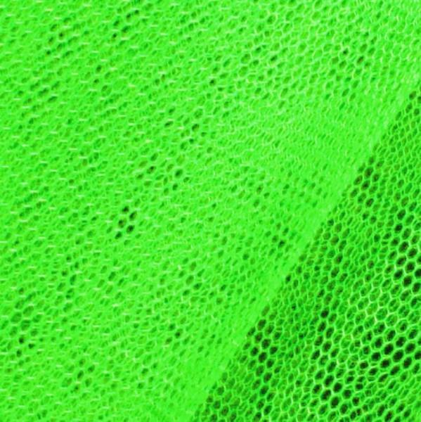 Tüll Stoff Farbe Neon Grün