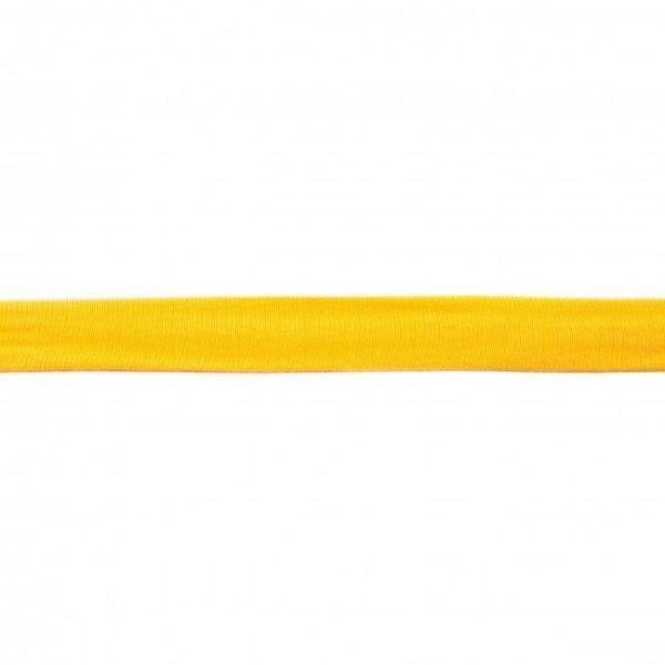 Baumwolljersey Schrägband Breite 20mm Farbe Gelb