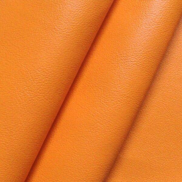Nappaleder Imitat Farbe Orange