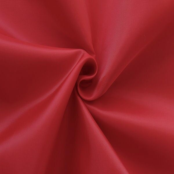 Polyester Taft Futterstoff Farbe Rot