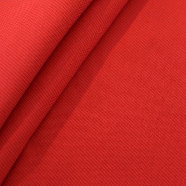Baumwoll Bündchenstoff Rot