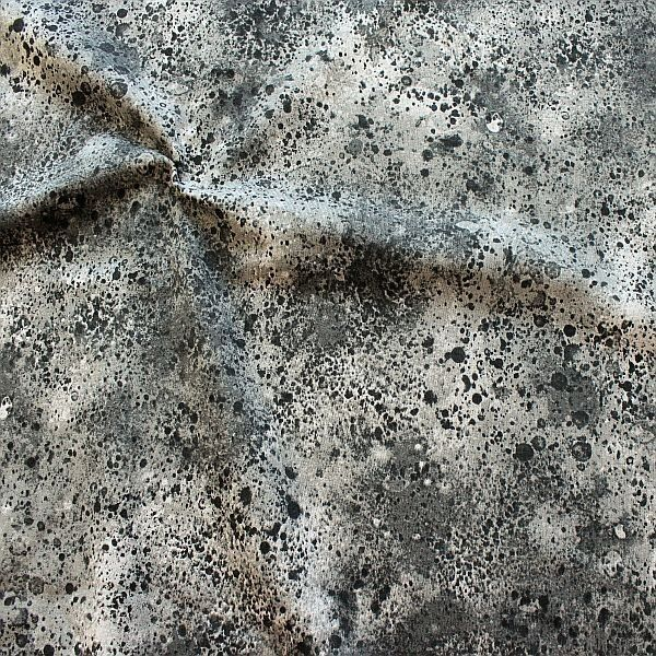 Sweatshirt Baumwollstoff French Terry Batik Stone Look Grau
