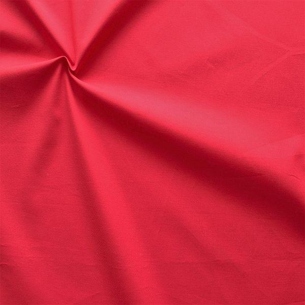 Stretch Baumwolle Köper Rot