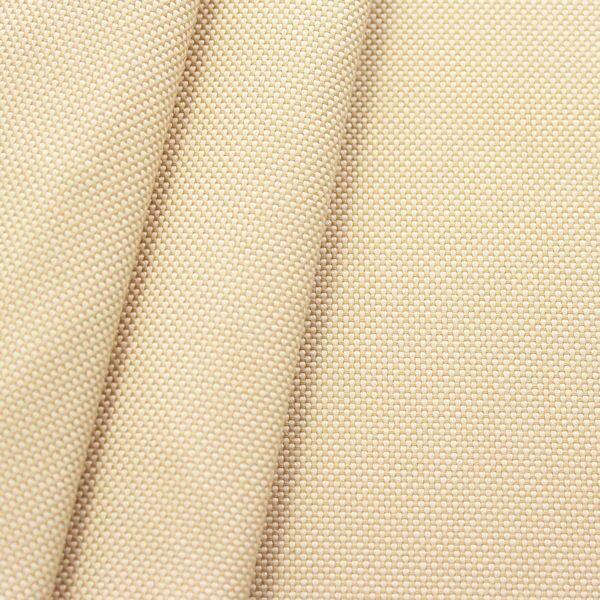 Indoor- / Outdoorstoff Panama Bindung Farbe Elfenbein meliert