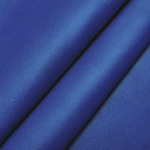 Nappaleder Imitat Farbe Royal-Blau