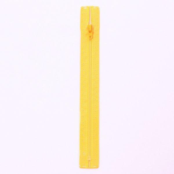 Reißverschluss S1 Typ 18 cm Sonnen-Gelb