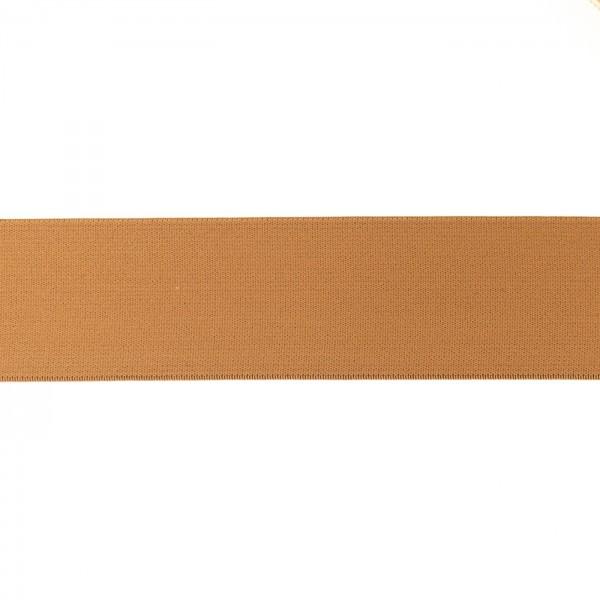 Elastikband 40mm Hell-Braun