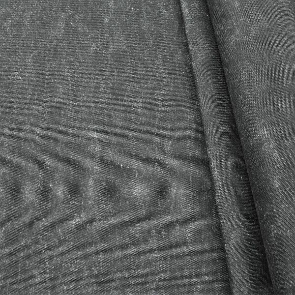 Outdoorstoff universal Jeans Used Optik Dunkel-Grau