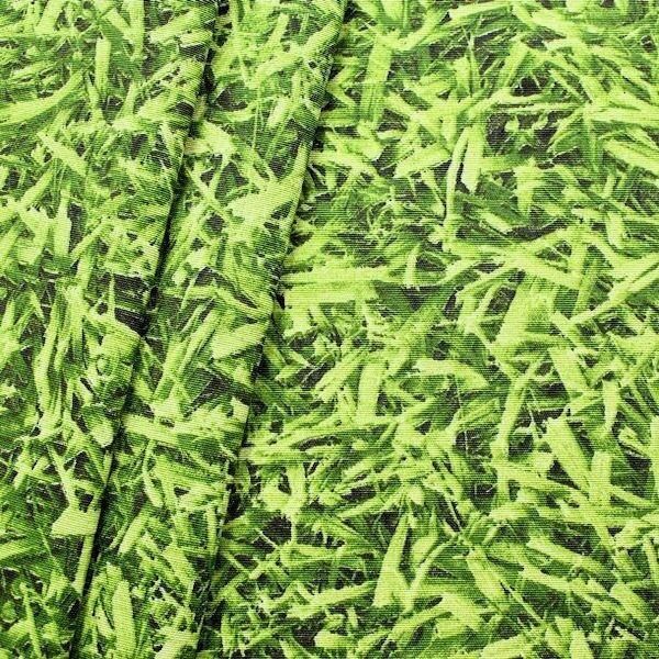 Dekostoff Rasen Grün