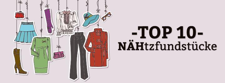 Top 10 NÄHtz-Fundstücke im März 2016