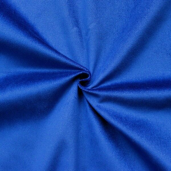 Bühnen Samt B1 schwer entflammbar Artikel Constantin Farbe Royal-Blau