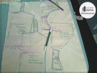 Schnittteile für Unterwäsche