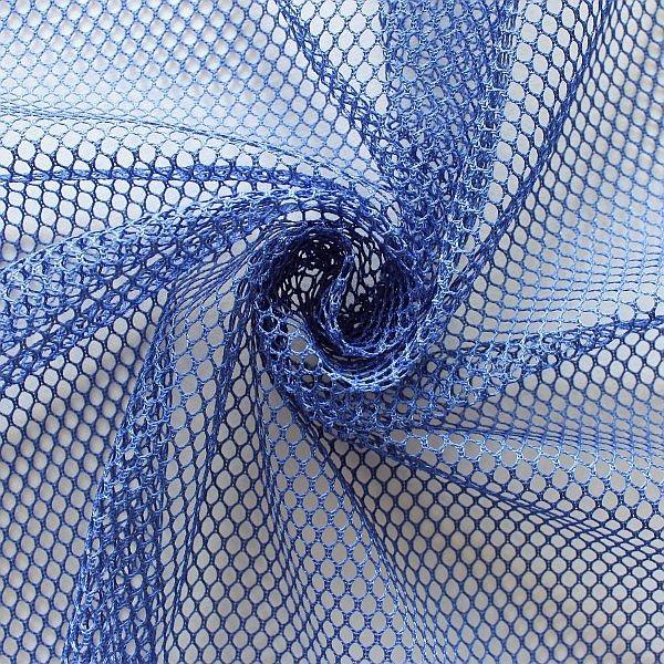 Mesh Netzstoff Blau